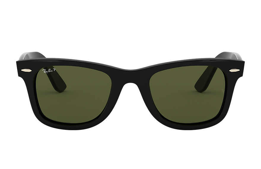 Ray-Ban WAYFARER EASE Black with Green Classic G-15 lens