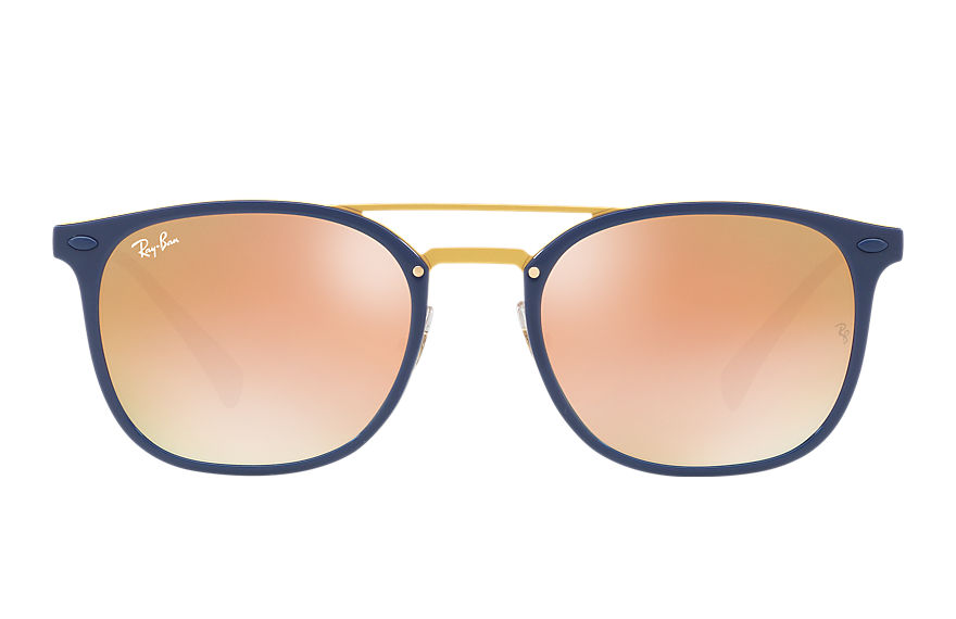 Ray-Ban Sunglasses RB4286 Blue with Pink Gradient Mirror lens
