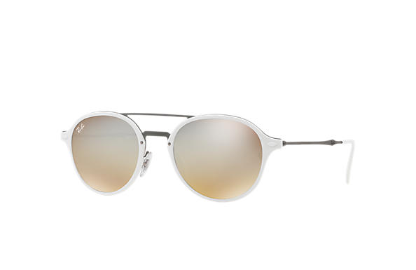 Ray-Ban 0RB4287-RB4287 Blanco; Gunmetal SUN