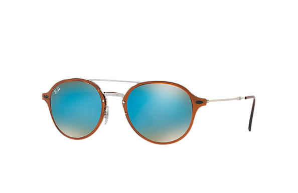 Ray-Ban 0RB4287-RB4287 Brown; Silver SUN