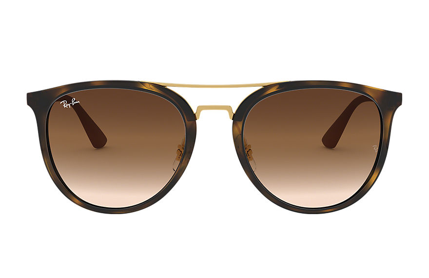 Ray-Ban RB4285 Tartaruga com Marrom Degradê lentes