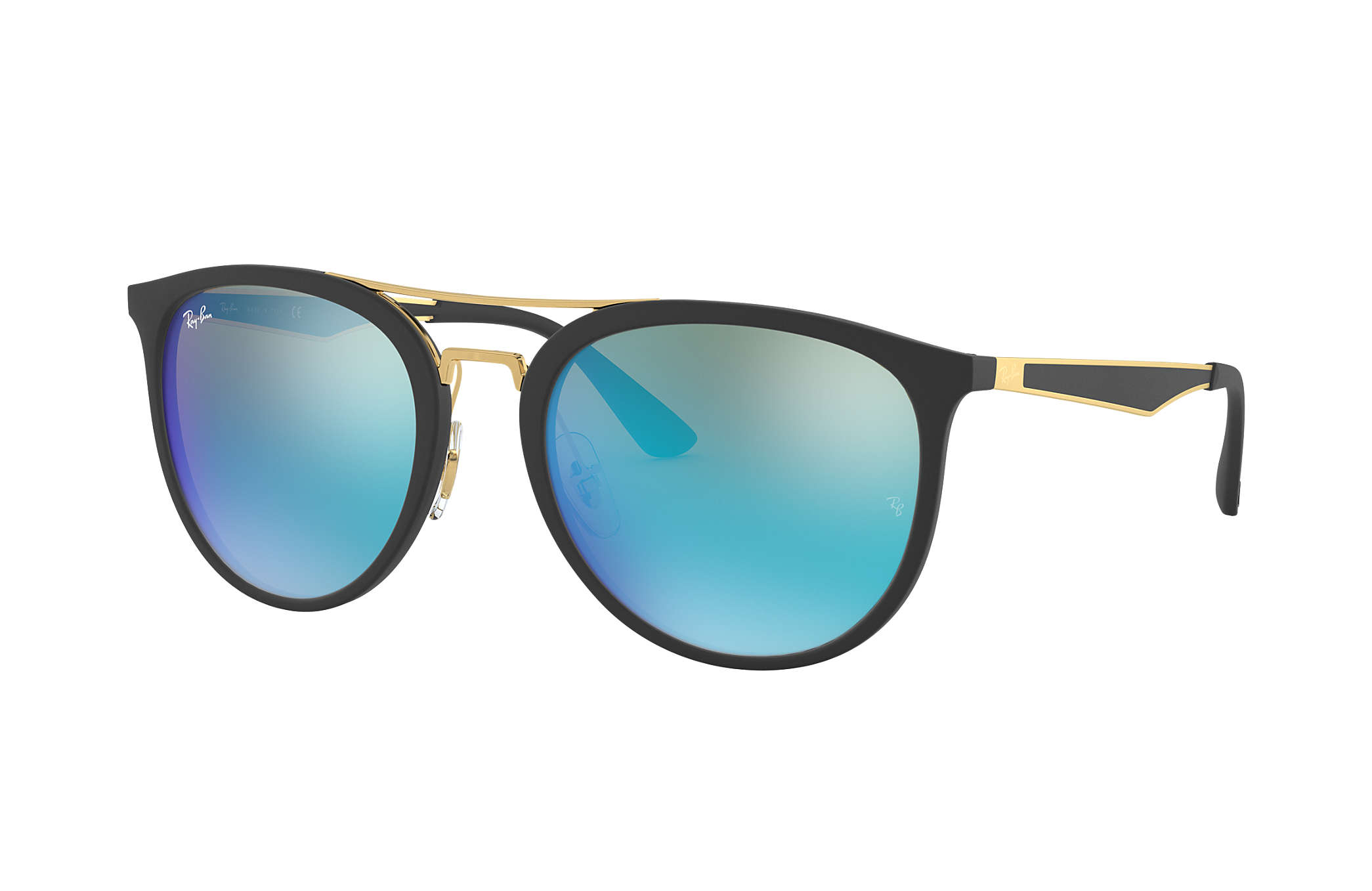 Ray-Ban RB4285 Noir - Injected - Verres Bleu - 0RB4285601S5555   Ray ... 36d35db2e081