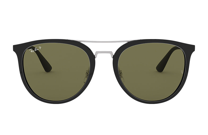 Ray-Ban RB4285 Black with Green Classic G-15 lens