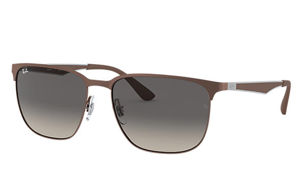 Ray-Ban 0RB3569-RB3569 Marron clair; Gun,Marron SUN