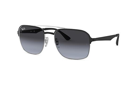 8d12e8918d3 Ray-Ban RB3570 Black - Metal - Grey Lenses - 0RB357090048G58