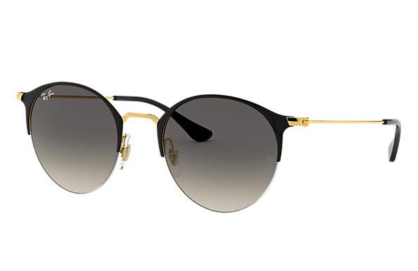 Ray-Ban 0RB3578-RB3578 Black; Gold SUN