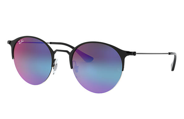 1e4785ff70 Ray-Ban RB3578 Black - Metal - Blue Violet Lenses - 0RB3578186 B150 ...