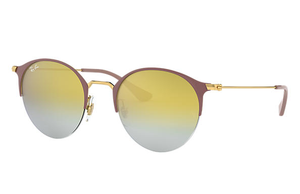Ray-Ban 0RB3578-RB3578 Marron clair,Or; Or SUN