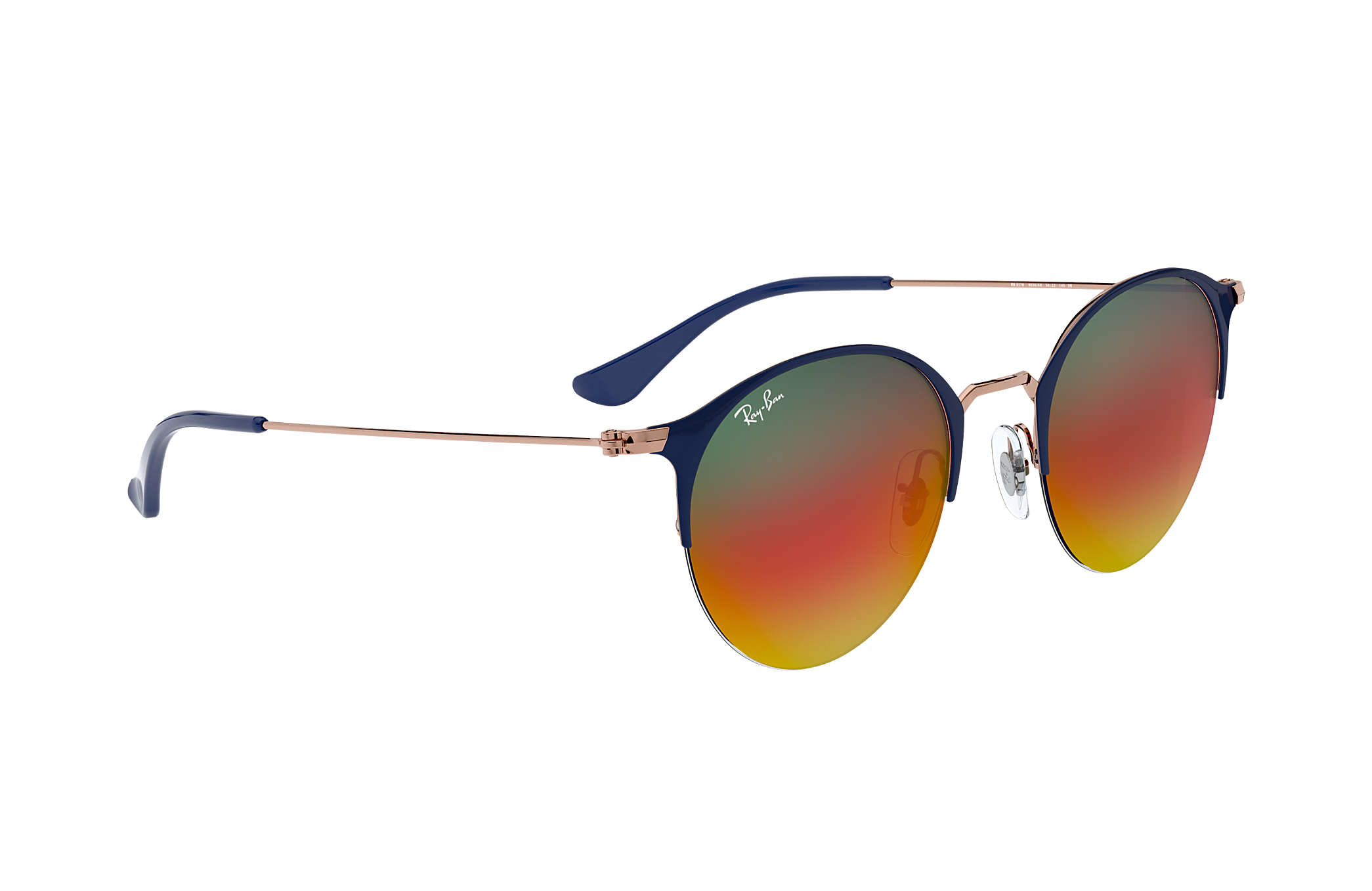 99beb387d5c Ray-Ban RB3578 Blue - Metal - Orange Lenses - 0RB35789036A850