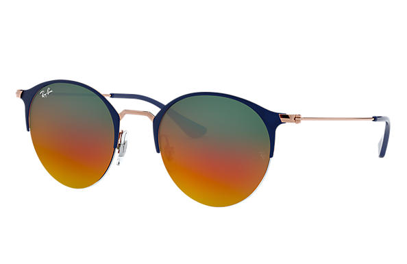 Ray-Ban		 0RB3578-RB3578 Blue,Bronze-Copper; Bronze-Copper SUN