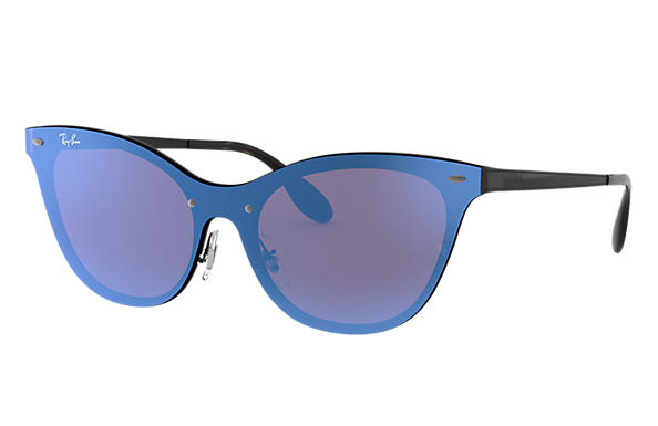 Ray-Ban 0RB3580N-BLAZE CAT EYE Black SUN