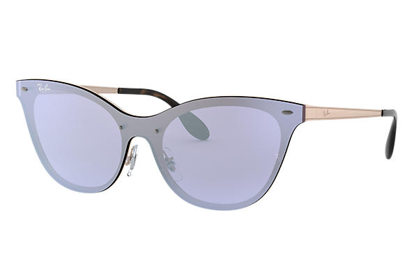 Ray-Ban 0RB3580N-BLAZE CAT EYE Bronzo-Rame SUN