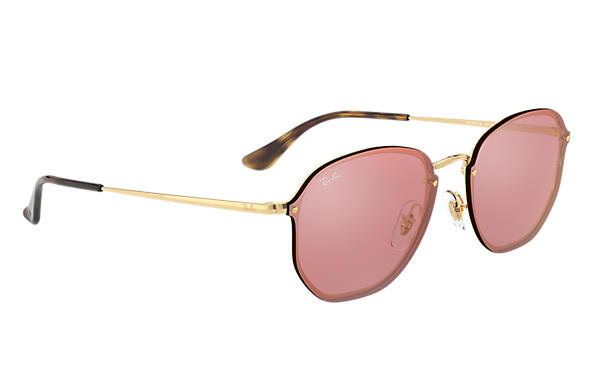Ray-Ban 0RB3579N-BLAZE HEXAGONAL 金色 SUN