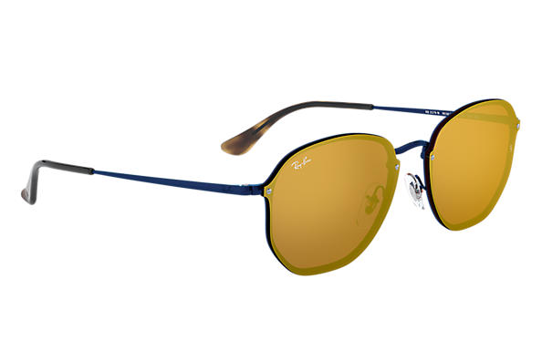 Ray-Ban 0RB3579N-BLAZE HEXAGONAL 藍色 SUN