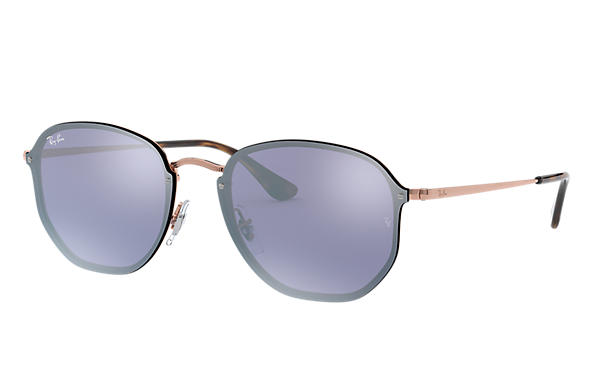 Ray-Ban 0RB3579N-BLAZE HEXAGONAL Bronze-Kupfer SUN