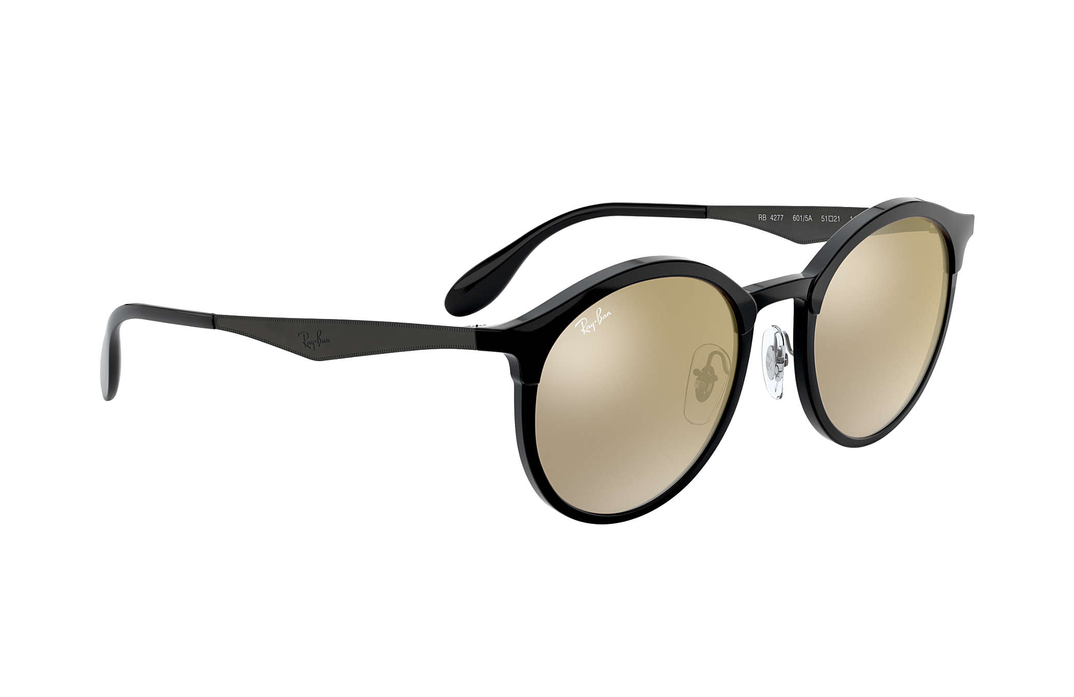 4d118f18df3 Ray-Ban Emma RB4277 Black - Injected - Gold Lenses - 0RB4277601 5A51 ...