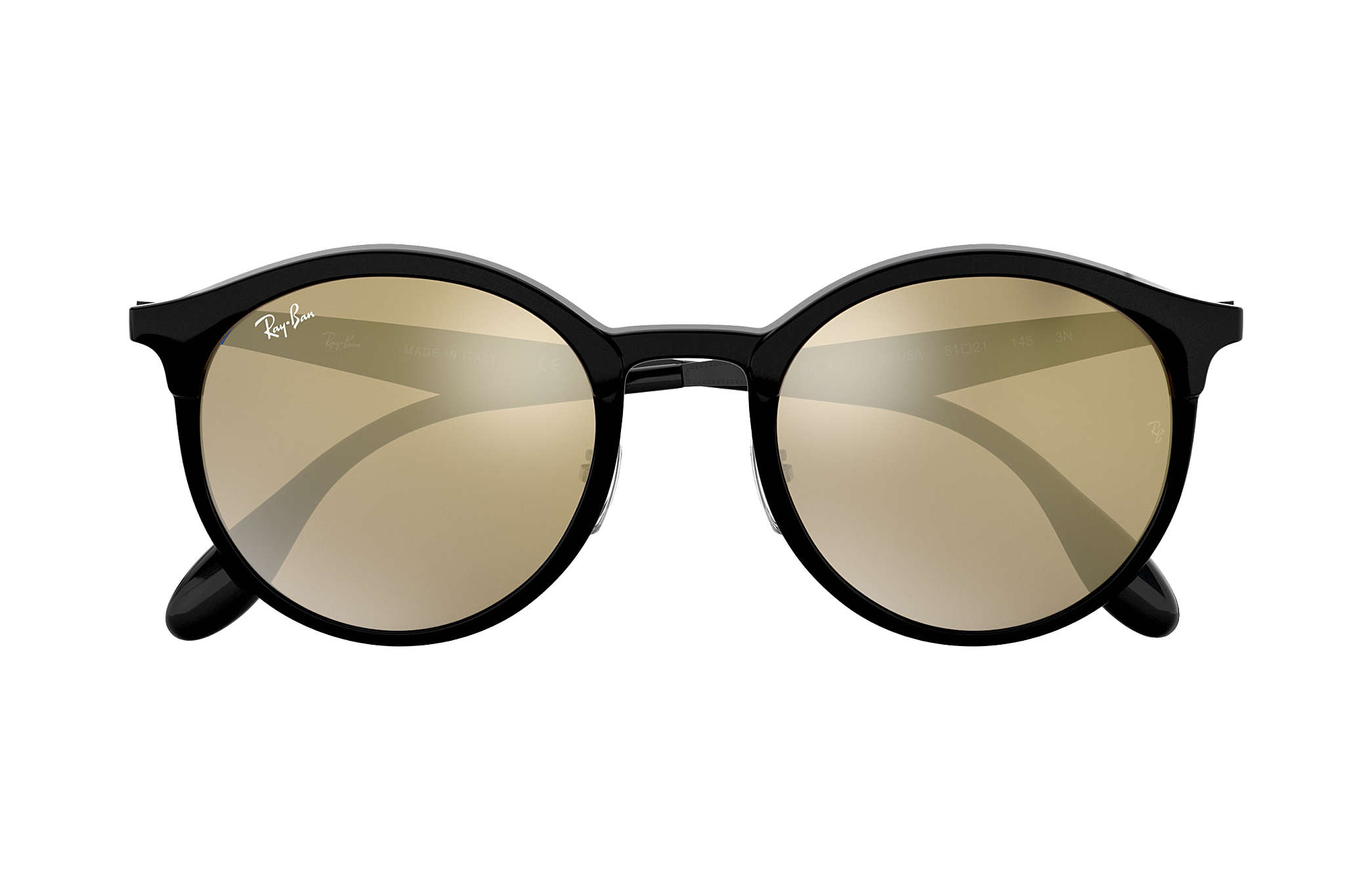 ce73d324b24 Ray-Ban Emma RB4277 Black - Injected - Gold Lenses - 0RB4277601 5A51 ...
