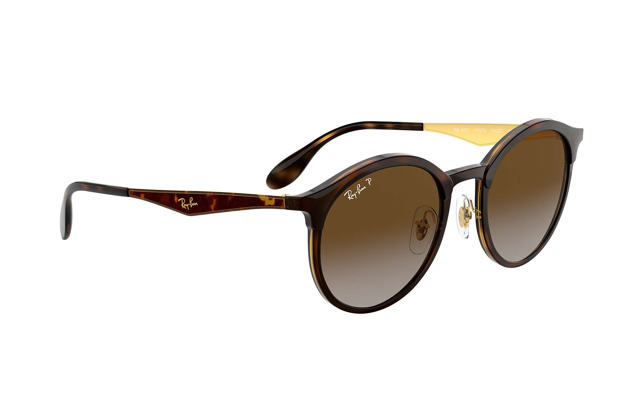 2791339ea Ray-Ban Emma RB4277 Tortoise - Injected - Brown Polarized Lenses ...