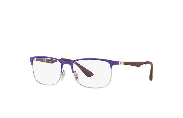 Ray-Ban 0RY1052-RB1052 Violet,Silver; Brown OPTICAL