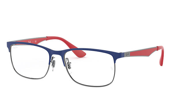 Ray-Ban 0RY1052-RB1052 Blue,Gunmetal; Red OPTICAL