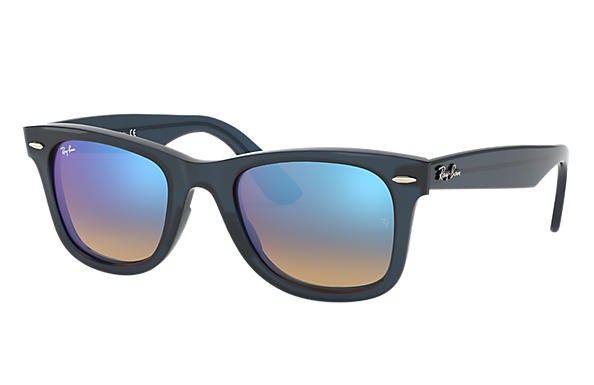 Ray-Ban Wayfarer Ease RB4340 Blue - Injected - Blue Lenses ...