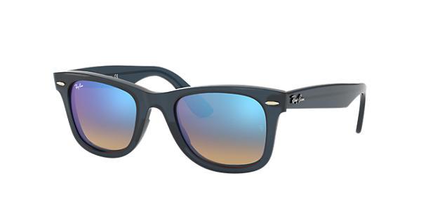 2e2588c37b Ray-Ban Wayfarer Ease RB4340 Blue - Injected - Blue Lenses -  0RB434062324O50