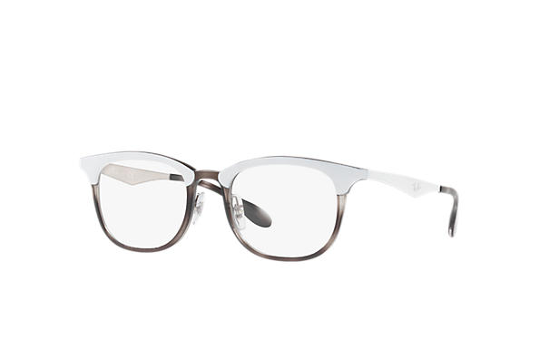 Ray-Ban 0RX7112-RB7112 White; White,Silver OPTICAL
