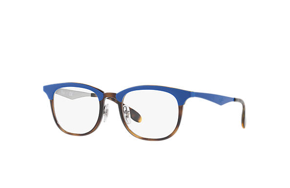 Ray-Ban 0RX7112-RB7112 Blue; Blue,Silver OPTICAL