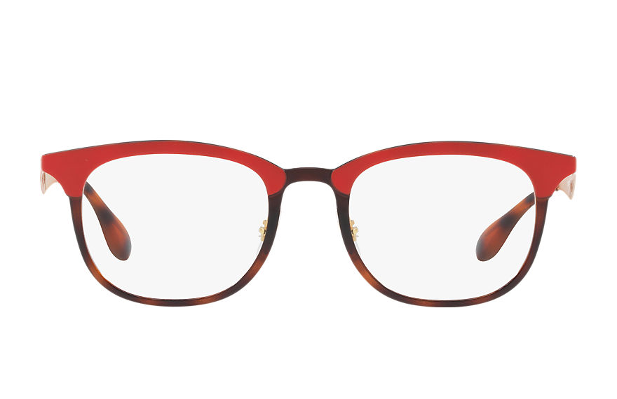Ray-Ban  sehbrillen RX7112 UNISEX 003 rb7112 rot 8053672782141