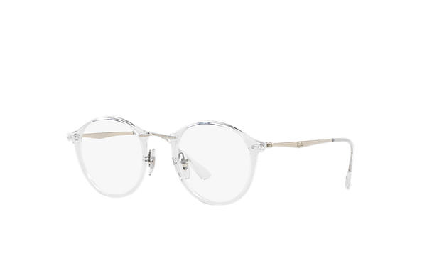 Ray-Ban 0RX7073-RB7073 Transparent; Silber OPTICAL
