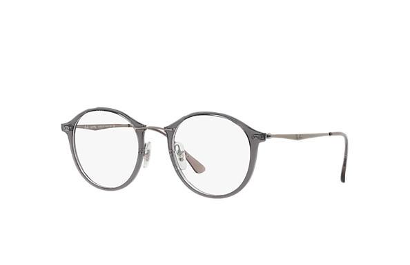 56e29e28873 Ray-Ban prescription glasses RB7073 Black - LightRay Titanium ...
