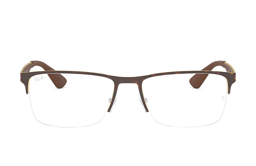 Ray-Ban  eyeglasses RX6335 MALE 001 rb6335 玳瑁色 8053672782530