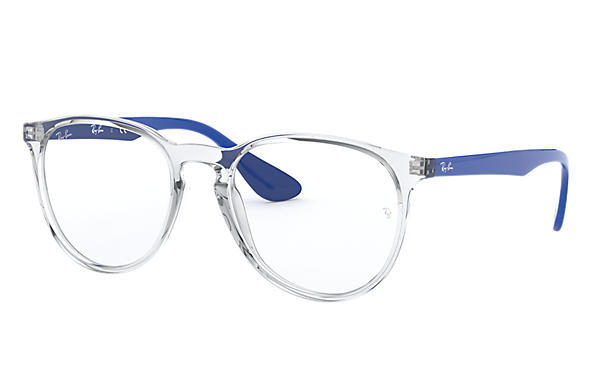 Ray-Ban 0RX7046-ERIKA OPTICS Transparent; Blau OPTICAL