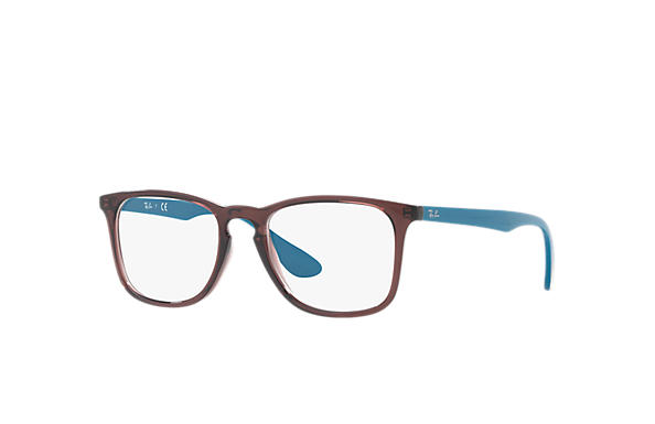 65ee02fd89 Ray-Ban prescription glasses RB7074 Brown - Injected - 0RX7074573550 ...