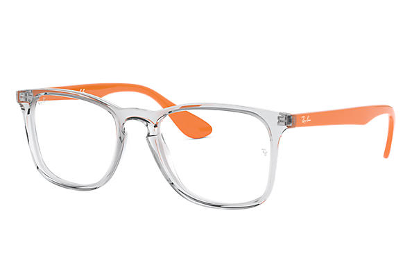 Ray-Ban 0RX7074-RB7074 Transparent; Orange OPTICAL