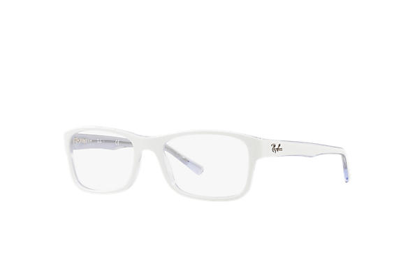 Ray-Ban 0RX5268-RB5268 Blanc,Transparent OPTICAL