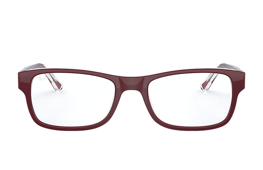 Ray-Ban  eyeglasses RX5268 UNISEX 002 rb5268 bordeaux 8053672783445