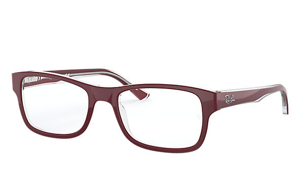 Ray-Ban 0RX5268-RB5268 Bordeaux,Transparent OPTICAL