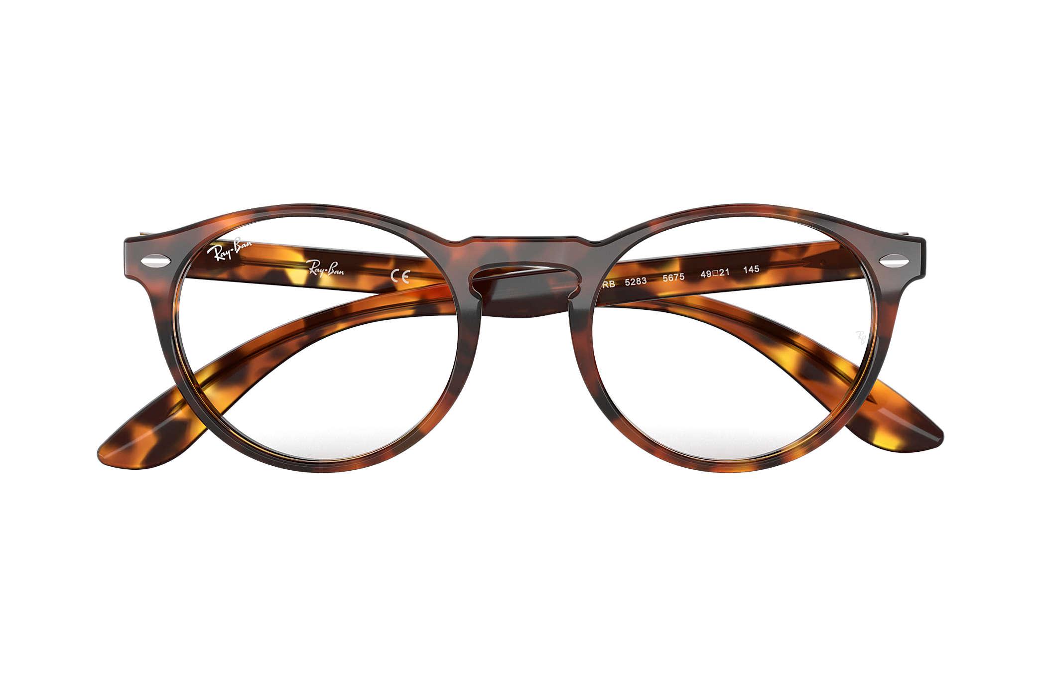 7cd195465ce56 Ray-Ban eyeglasses RB5283 Tortoise - Acetate - 0RX5283567551