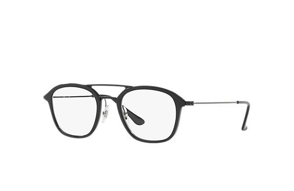 a29a11ec22 Ray-Ban prescription glasses RB7098 Black - Injected - 0RX7098572550 ...
