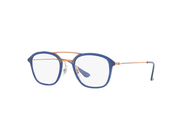 Ray-Ban 0RX7098-RB7098 Blau; Bronze-Kupfer OPTICAL
