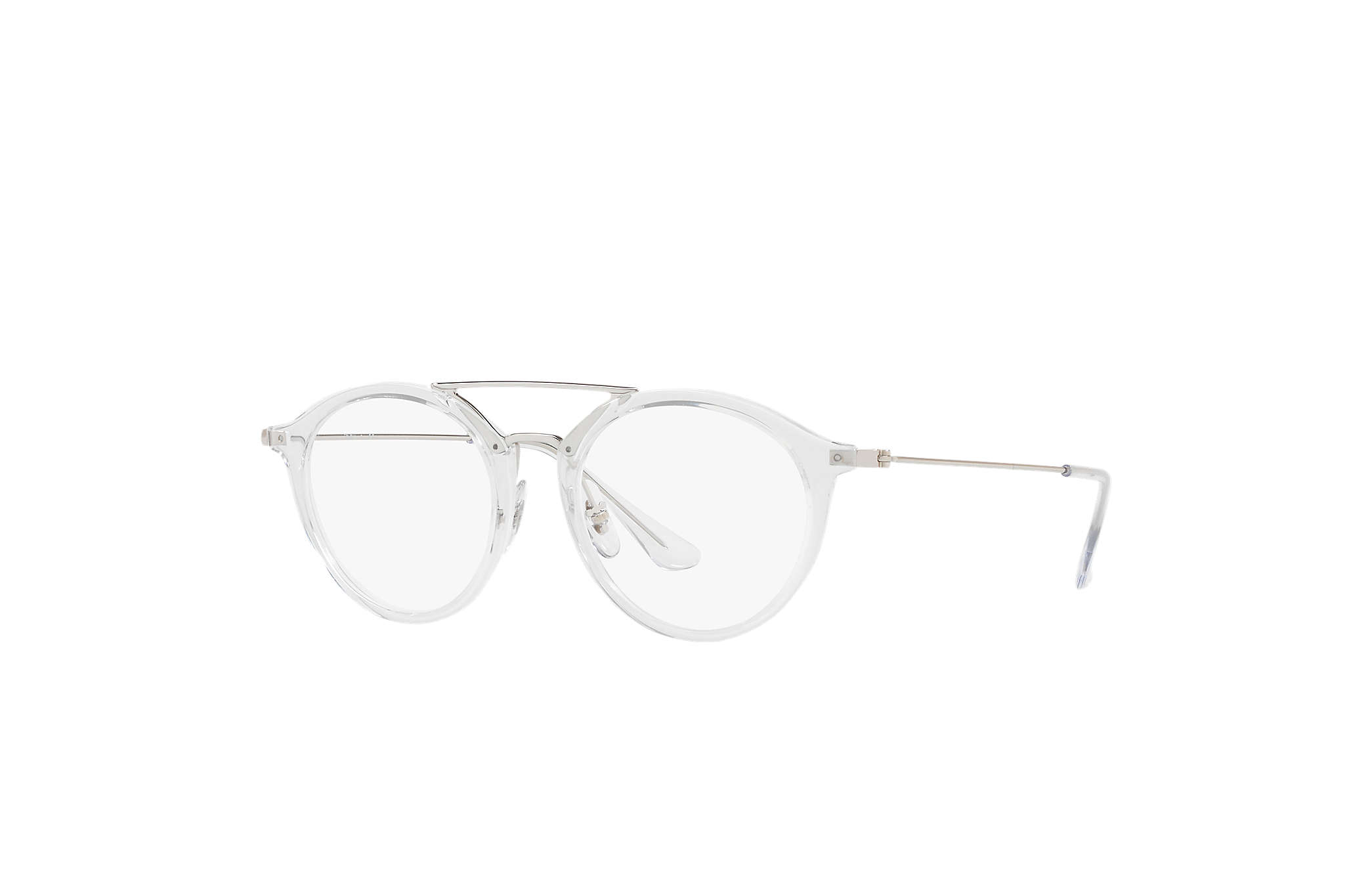 cd5790eba4a9f Lunettes de vue Ray-Ban RB7097 Transparent - Injected ...