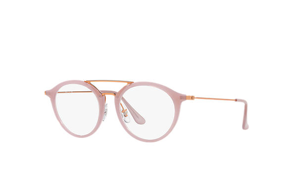 Ray-Ban 0RX7097-RB7097 Beige; Bronze-Copper OPTICAL