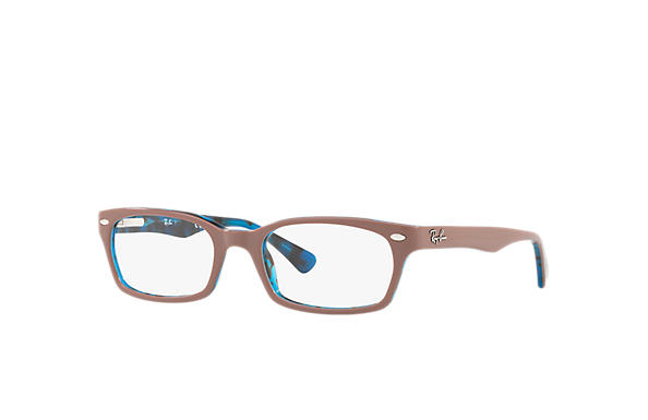 Ray-Ban 0RX5150-RB5150 Marron clair,Bleu OPTICAL