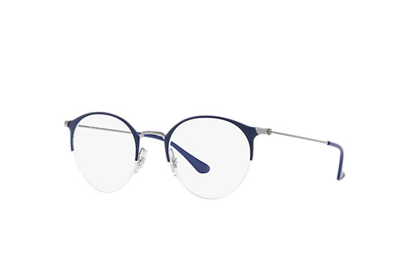 Ray-Ban 0RX3578V-RB3578V Blue,Gunmetal; Gunmetal OPTICAL