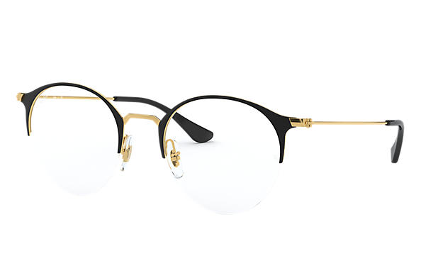 Ray-Ban 0RX3578V-RB3578V Schwarz,Gold; Gold OPTICAL