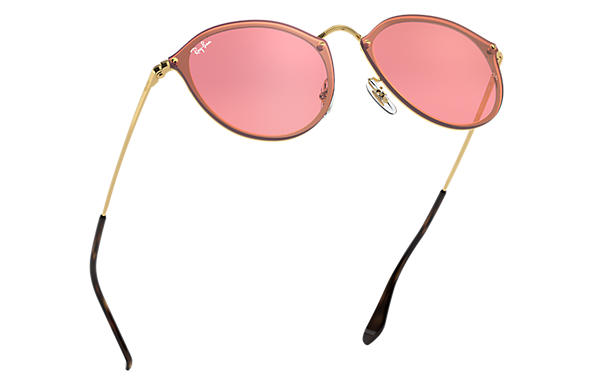 ray ban homme verre rose
