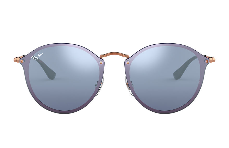Ray-Ban  sunglasses RB3574N UNISEX 002 blaze round bronze copper 8053672785074