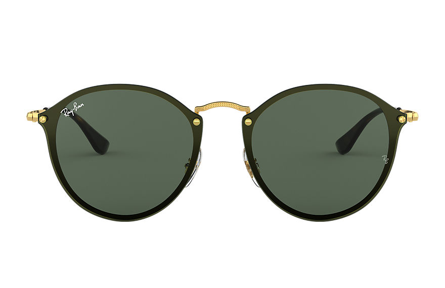 Ray-Ban  sunglasses RB3574N UNISEX 003 blaze round polished gold 8053672785098