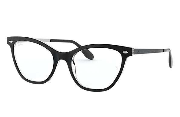 Ray-Ban 0RX5360-RB5360 Black,Transparent; Black,Silver OPTICAL